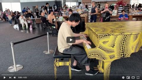 【都庁ピアノ】Andy Mak - 香港ラッシュアワー (オリジナル曲)