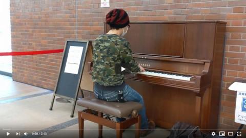 【ストリートピアノ】翼をください【ミューザ川崎】