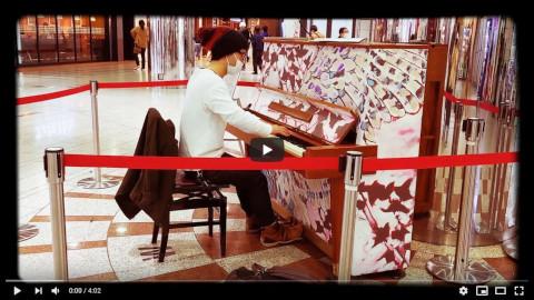 【Sレア】FF7「エアリスのテーマ」【象牙ストリートピアノ】