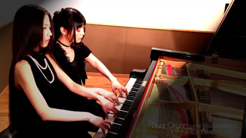 【暗黒ピアノ連弾】ザナルカンドにて【FF10】