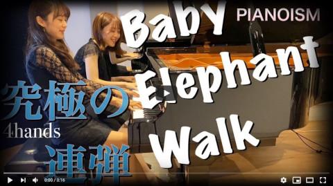 【Baby Elephant Walk 子象の行進】ピアノ連弾超上級 jazzy 4hands piano【PIANOISM】