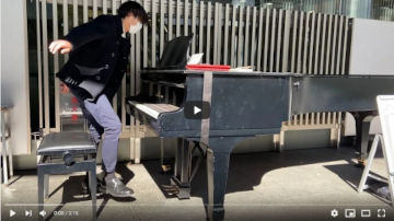 【Kobe Street Piano】風の谷のナウシカ