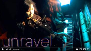 TK from 凛として時雨『unravel』超絶バイオリン&ピアノバージョン!!