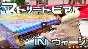 【海外ストリートピアノ】音楽の都ウィーンでモーツァルト弾いてみたら流石外国だった?